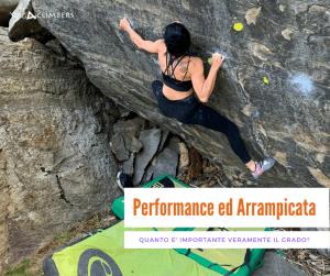 performance ed arrampicata